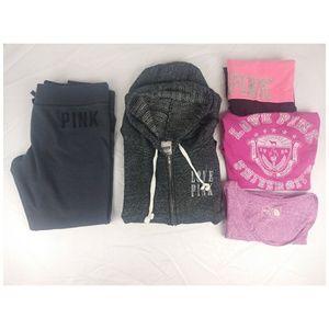 Victoria Secret Pink Womens Size Large Lot